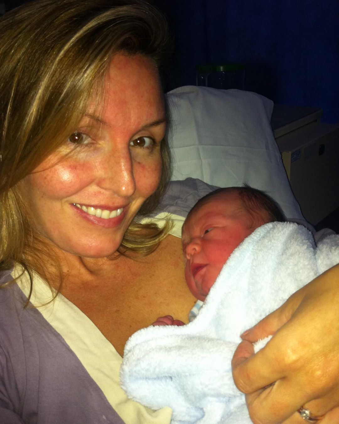 claire sanderson shares her positive birth story
